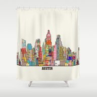 Austin Texas Shower Curtain