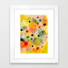 Youth Energy Framed Art Print