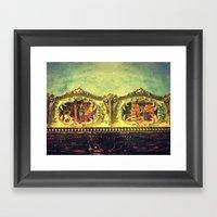 Auf dem Jahrmarkt (1) Framed Art Print