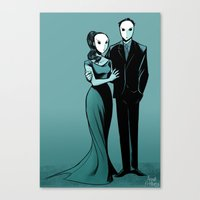 Court of Owls Canvas Print