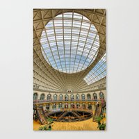 The Corn Exchange Interi… Canvas Print