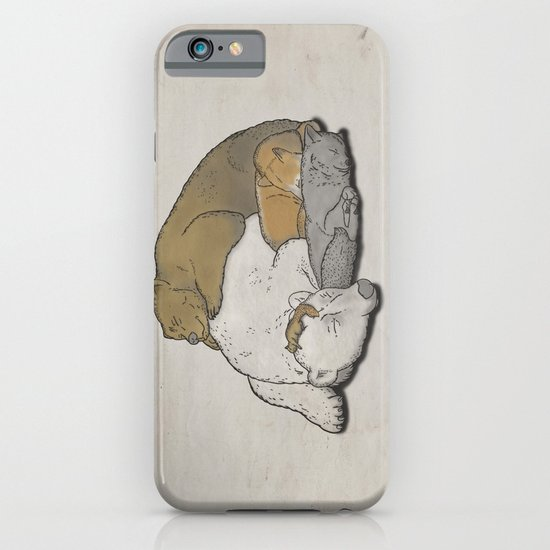 It's a boring winter. iPhone & iPod Case