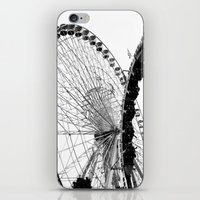 At The Fair: Round And R… iPhone & iPod Skin