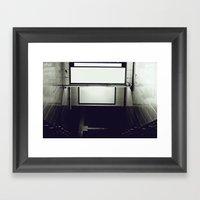 More K Framed Art Print