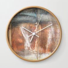 Wood Texture #2 Wall Clock