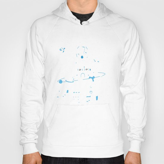 Interstellar Travels Hoody