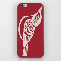 Black Capped Vireo - Han… iPhone & iPod Skin