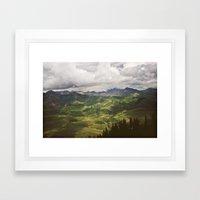 Where I Belong Framed Art Print