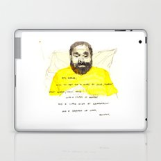 Quickly - Bored to Death Laptop & iPad Skin