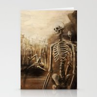You See Bones Stationery Cards