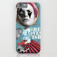 iPhone & iPod Case featuring she loves the fishes by swinx