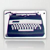 typing Laptop & iPad Skin