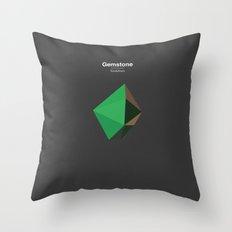 Gemstone - Xirdalium Throw Pillow