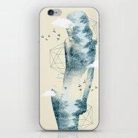 Tree line Facet iPhone & iPod Skin