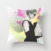 Breakfast At Tiffany's F… Throw Pillow