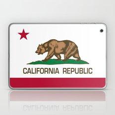 California Republic state flag - Authentic Version Laptop & iPad Skin