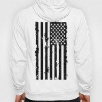 American Brain Flag Hoody