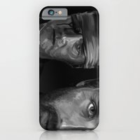 iPhone & iPod Case featuring Rick and The Governor by Thousand Lines Ink