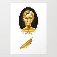 The Golden Goose Art Print