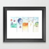 Fearie & Kitty  Framed Art Print