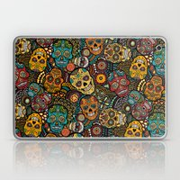 Calavaras - Day of the Dead Skulls Laptop & iPad Skin