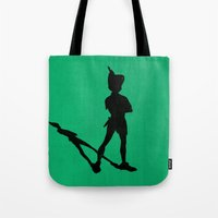 HE CAN FLY! (Peter Pan) Tote Bag