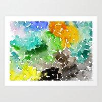Cubed 2 Art Print