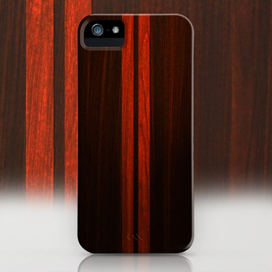 Wooden Striped Oak case Art Print