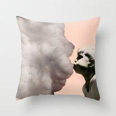 Exhalation Throw Pillow