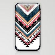 iPhone & iPod Skin featuring Tribal Geometric Chevron by Michiko_design