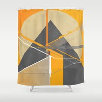 Pyramid Shower Curtain