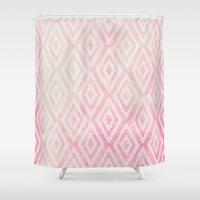 Summer Fade: Berry Popsi… Shower Curtain