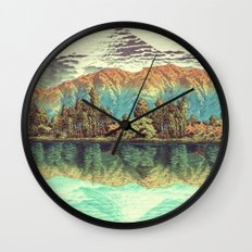 The Unknown Hills In Kam… Wall Clock