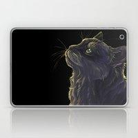 Cat And The Light  Laptop & iPad Skin