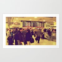 The Departure Art Print