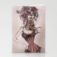Lovely death Stationery Cards