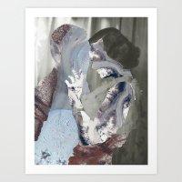 Glaciers Art Print
