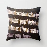 Get It Throw Pillow