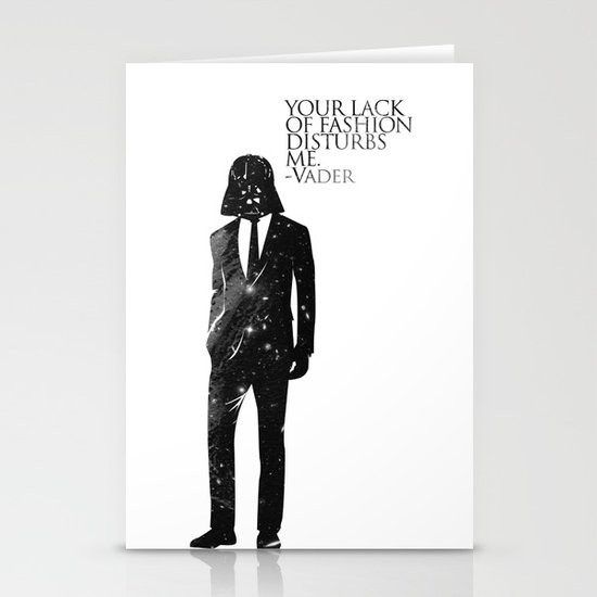 the lord of fashion Stationery Card