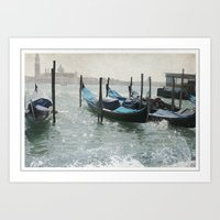 Venice Vintage Art Print