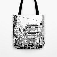 Yokohama - China Town Tote Bag