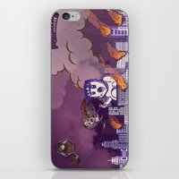 Monster Invasion iPhone & iPod Skin