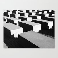 Berlin holocaust Canvas Print