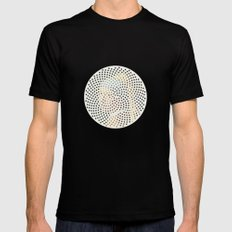 Optical Illusions - Famous Work of Art 3 SMALL Mens Fitted Tee Black