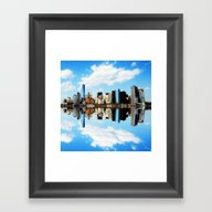 New York New York Framed Art Print