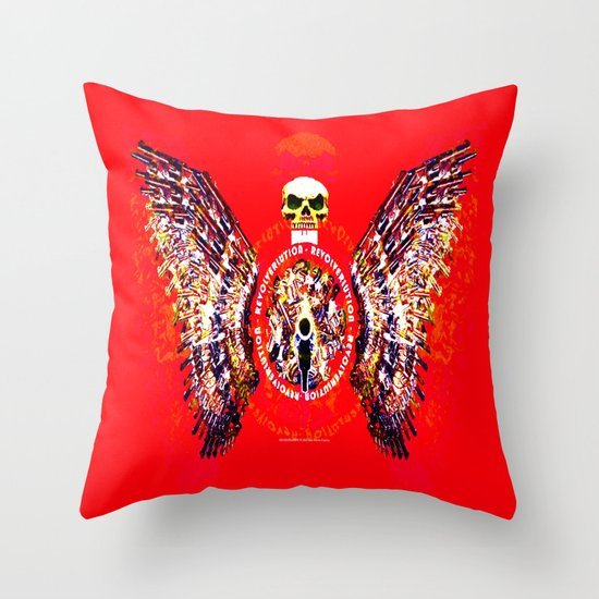 REVOLVERLUTION 034 Throw Pillow