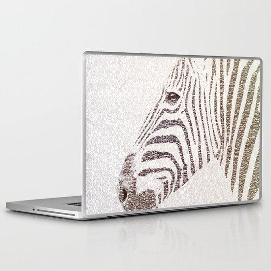 The Intellectual Zebra Laptop & iPad Skin