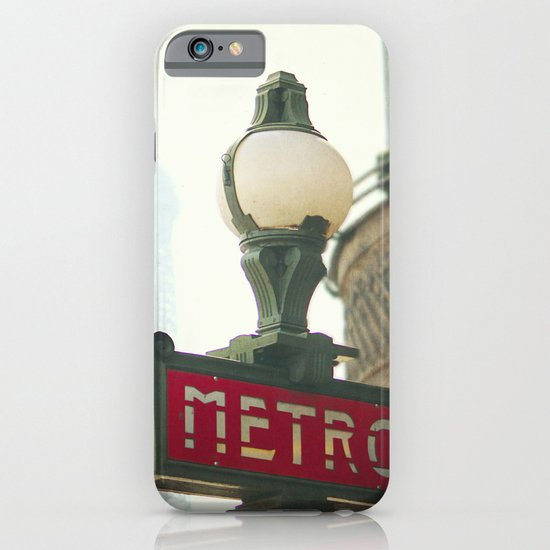 Metro in Paris iPhone & iPod Case
