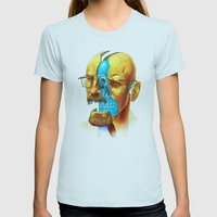 Breaking Bad / Broken Bad Womens Fitted Tee Light Blue SMALL
