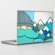 Blue Beard Laptop & iPad Skin